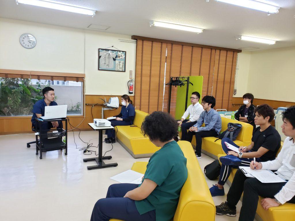 【動画】福嶺紀明先生による肩関節の評価実技(20203.19 第1回新人発表会にて)